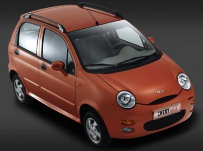 Автомобиль Chery QQ.