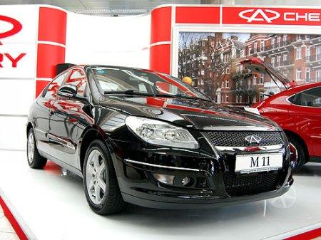 Тест драйв автомобиля Chery M11