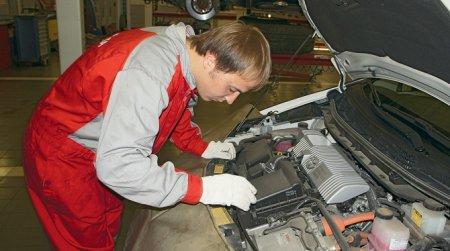 Обслуживание гибридного автомобиля
