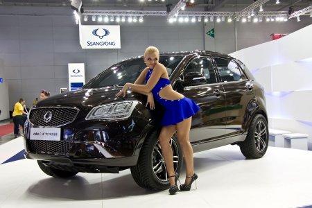 SsangYong Actyon получил новый дизельный двигатель