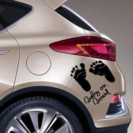 Наклейки на бампер сделают автомобиль более заметным
