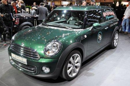 В российской Федерации запустили в продажу новую модель от MINI под названием Clubvan