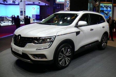 Renault показал новый Koleos в Париже