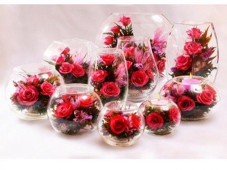 О необычных подарках: стабилизированные цветы
