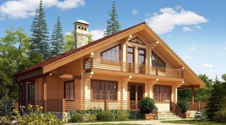 Преимущества строительства домов из древесины